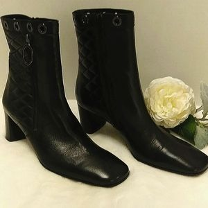 VIA SPIGA Made in Italy Leather Boots